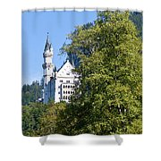 Castle 4 Shower Curtain