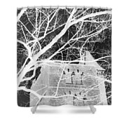 Castle At Night Shower Curtain