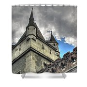 Castle Budapes Shower Curtain