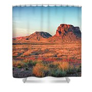 Castle Butte Shower Curtain