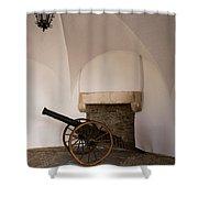 Castle Canon Shower Curtain