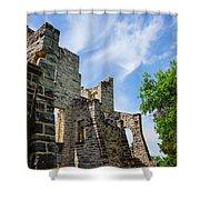 Castle Corner Ha Ha Tonka Shower Curtain