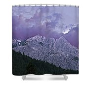 Castle Craggs Shower Curtain