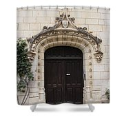 Castle Entrance Door Shower Curtain