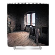Castle Frankenstein Shower Curtain