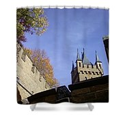 Castle From Afar Shower Curtain