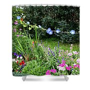 Castle Garden In Germany Shower Curtain