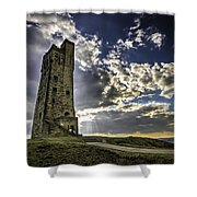 Victoria Tower Castle Hill Huddersfield 1 Shower Curtain