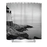 Castle Hill Lighthouse Shower Curtain