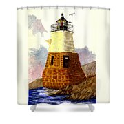 Castle Hill Lighthouse Shower Curtain