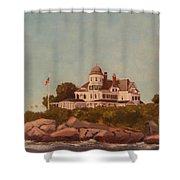 Castle Hill Newport Ri Shower Curtain