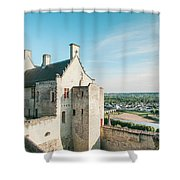 Castle In Chinon Shower Curtain