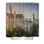 Castle In The Sun Shower Curtain