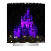 Castle Of Cinderella Shower Curtain