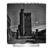 Castle Of Helsingborg Shower Curtain
