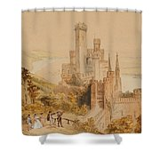 Castle On The Rhine Shower Curtain