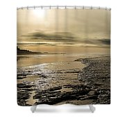 Castle On The Shore Shower Curtain
