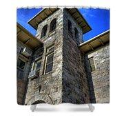 Castle Rock Elementary School Shower Curtain
