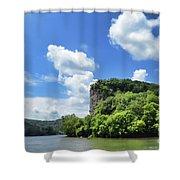 Castle Rock - Pembroke Virginia Shower Curtain