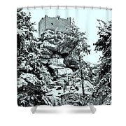 Castle Ruin Flossenbuerg Shower Curtain