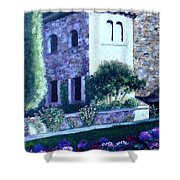 Castle Sestri Levante Shower Curtain