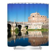 Castle St Angelo Shower Curtain