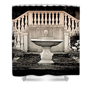 Castle Stairs Shower Curtain