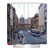 Castle Street - Liverpool Shower Curtain