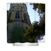 Castle Towers The Trees Shower Curtain