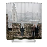 Castle View Shower Curtain