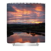 Castlemaine December Dawn Shower Curtain