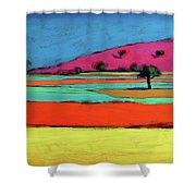 Castlemorton V  Shower Curtain