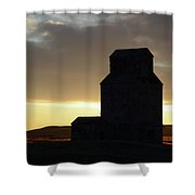 Castles Of The Farmlands Shower Curtain