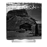 Castolon Ghost Town Shower Curtain