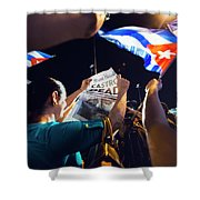 Castro Dead Shower Curtain