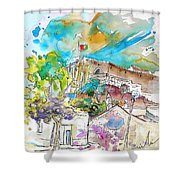 Castro Marim Portugal 10 Shower Curtain