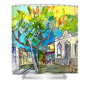 Castro Marim Portugal 14 Bis Shower Curtain