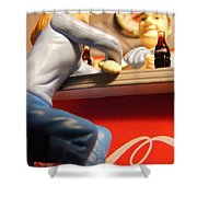 Casual Conversation Shower Curtain