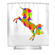 Cat 105ddrdd5 Shower Curtain