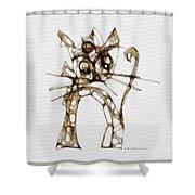 Cat 3672 Shower Curtain