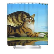 Cat And Mouse Shower Curtain