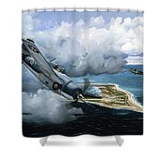 Cat And Mouse Over Wake Shower Curtain