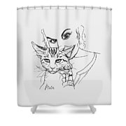 Pixie Shower Curtain