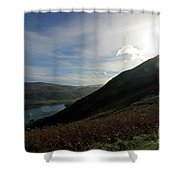 Cat Bells In Cumbria Uk Shower Curtain