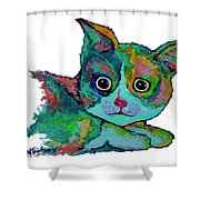 Cat For Love Shower Curtain