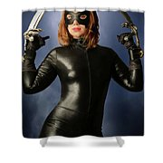 Cat Claws And Mask Shower Curtain
