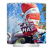 Cat In The Hat Series 2999 Shower Curtain