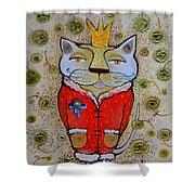 Cat-king Shower Curtain