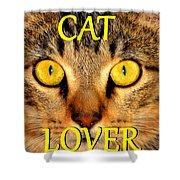 Cat Lover Spca Shower Curtain