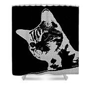 Cat On A Hot Tin Roof Shower Curtain